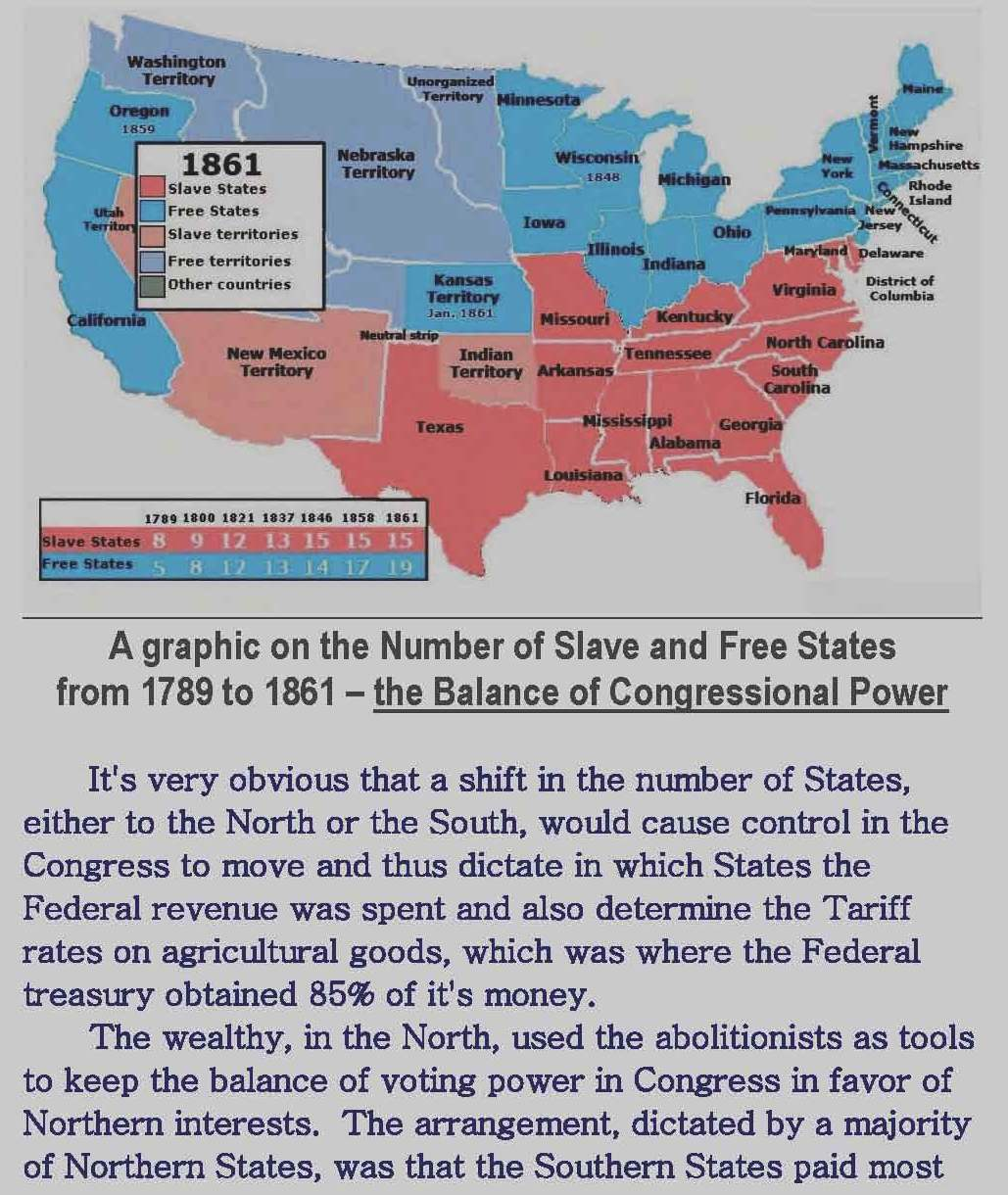 Number of Slave and Free States from 1789 to 1861, the balance of power_Page_1